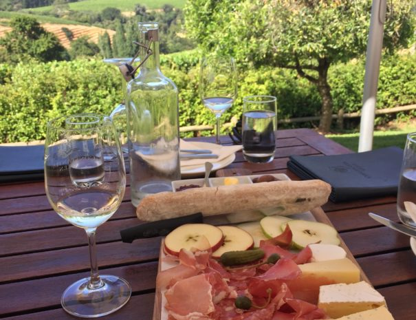 Picnic at Constantia Glen Wine Estate